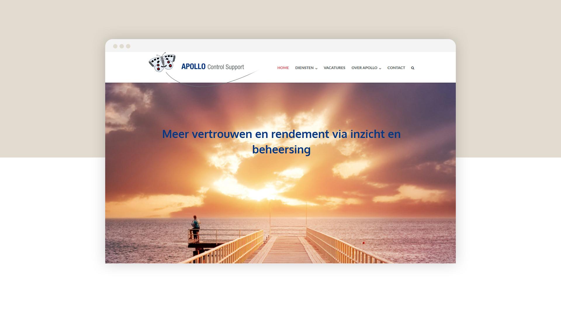 apollo control support financieel interim management