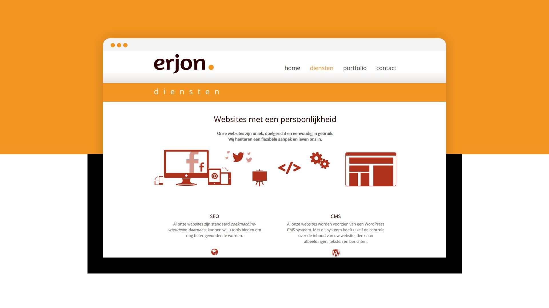 werk voor erjon webdesign steenwijk